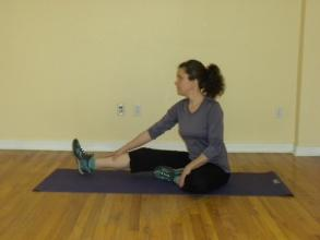 Inhibitive Hamstring Stretch